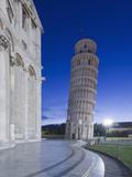 Leaning Tower of Pisa at Dawn, Pisa, Italy Photographic Print by Rob Tilley