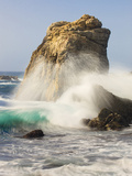 Foam in Air from Breaking Waves, Garrapata State Park, Entrance No.7, California, USA Photographic Print by Tom Norring