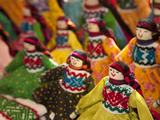 Fabric Dolls for Sale, Guanajuato, Mexico Photographic Print by John & Lisa Merrill