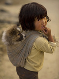 Portrait of a Tribal, Rural Arunachal Pradesh, India Photographie par Jaina Mishra