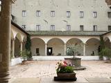 Hotel Relais Il Chiostro, Franciscan Monastery, Pienza, UNESCO World Heritage Site, Siena, Italy Photographic Print by Nico Tondini