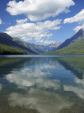 Bowman Lake in the Late Afternoon: Glacier National Park, Montana, USA Photographic Print by Michel Hersen