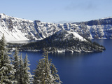 Crater Lake National Park, Oregon, USA Photographic Print by Michel Hersen