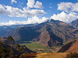 A View of the Sacred Valley and Andes Mountains of Peru, South America Photographic Print by Miva Stock