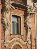 Beloselsky-Belozersky Palace, Vosstaniya, Saint Petersburg, Russia Photographic Print by Walter Bibikow