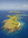 Yanuya Island, Mamanuca Islands, Fiji Photographic Print by David Wall