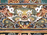 Punakha Dzong Palance, Bhutan Lámina fotográfica por Dennis Kirkland