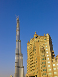 Burj Dubai Tower, Dubai, United Arab Emirates Photographic Print by Keren Su