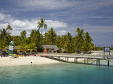 Plantation Island Resort, Malolo Lailai Island, Mamanuca Islands, Fiji, South Pacific Photographic Print by David Wall