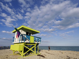 Lifeguard Station, South Beach, Miami, Florida, USA Photographic Print by Richard Duval