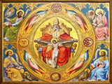 Altar Painting, Cologne, Germany Photographic Print by Miva Stock
