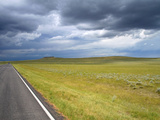 Low Clouds over the High Plains Desert Near Gillette, Wyoming, USA Photographic Print by David R. Frazier