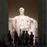 Lincoln Memorial, Washington DC, USA, District of Columbia Photographic Print by Lee Foster