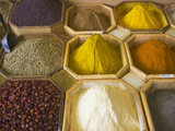 Selling Spices at the Market, Dubai, United Arab Emirates Photographic Print by Keren Su