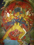 Thikese Monastery, Interior, Ladakh, India Photographic Print by Jaina Mishra