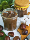 Chestnut (Castanea Sativa) Jam in Jar Photographic Print by Nico Tondini