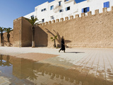 View of the Ramparts of the Old City, Essaouira, Morocco, North Africa Photographic Print by Nico Tondini
