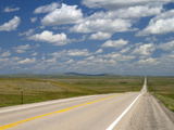 Highway 85 North of Spearfish, South Dakota, USA Photographic Print by David R. Frazier
