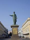 Statue of Duke De Richelieu, Odessa, Ukraine Photographic Print by Cindy Miller Hopkins