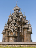 Church of the Transfiguration, Kizhi Island, Lake Onega, Russia Photographic Print by Roberto Gerometta