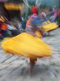 Domkar Tshechu Festival, Bumthang, Bhutan Photographic Print by Dennis Kirkland