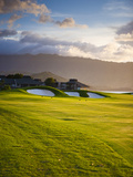 Makai Golf Course, Kauai, Hawaii, USA Photographic Print by Micah Wright