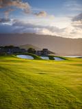 Makai Golf Course, Kauai, Hawaii, USA Photographic Print by Micah Wright
