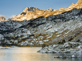 Sabrina Lake Sunrise in Eastern Sierra Foothills, California, USA Photographic Print by Tom Norring