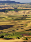 Palouse Farmland, Whitman County, Washington, USA Photographic Print by Jamie & Judy Wild