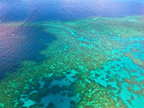 Aerial View of the Great Barrier Reef, Queensland, Australia Fotografie-Druck von Miva Stock