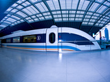 The Maglev Train, Fastest Train in the World, Shanghai, China Photographic Print by Miva Stock