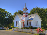 Oysterville Church, Oysterville, Washington, USA Photographic Print by Jamie & Judy Wild