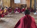 Temple of the Divine Madman, Bhutan Lámina fotográfica por Dennis Kirkland