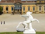 Pegasus, Boboli Garden, Florence (Firenze), UNESCO World Heritage Site, Tuscany, Italy Photographic Print by Nico Tondini