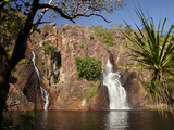 Cascade of Wangi Falls, Litchfield National Park, Northern Territory, Australia Photographic Print by David Wall
