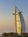 Burj Al Arab Hotel, Famous Building in Dubai, United Arab Emirates Photographic Print by Keren Su