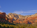 Vitrtual Amphtheater of Red-Rocks, Pink Rocks and a Valley of Trees, Near Sedona, Arizona, USA Photographic Print by Jan & Stoney Edwards