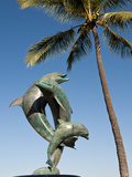 The Friendship Fountain Sculpture on the Malecon, Puerto Vallarta, Mexico Photographic Print by Michael DeFreitas