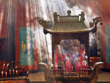 Lingyin Buddhist Temple Candles and Incense, Hangzhou, China Photographic Print by Miva Stock