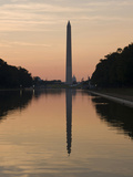 The Reflecting Pool on the National Mall, Washington DC, USA, District of Columbia Photographic Print by Lee Foster