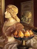 Minne Di Vergine, Virgin Tits Cakes, Sicily, Italy, Easter Day Italian Dish, Italian Gastronomy Photographic Print by Nico Tondini