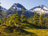 Mountain Landscape, Alaska, USA Photographic Print by John Alves