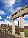 The Ancient Ruins of Pompeii, Italy Photographic Print by Miva Stock