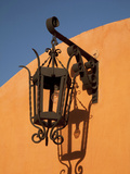 Street Lamp and Shadow, San Miguel De Allende, Mexico Photographic Print by John & Lisa Merrill