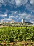 Monteriggioni, Siena Province, Tuscany, Italy Photographic Print by Nico Tondini