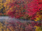 Hidden Lake, Pennsylvania, USA Photographic Print by Jay O'brien
