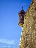 Watchtower, Fort San Felipe Del Morro, San Juan, Puerto Rico, USA, Caribbean Photographic Print by Miva Stock
