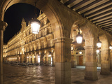 Plaza Mayor, Salamanca, Spain Photographic Print by Walter Bibikow