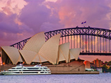 Sydney Opera House, Sydney, New South Wales, Australia Photographic Print by Miva Stock
