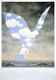 Die große Familie, 1963 Kunst von Rene Magritte